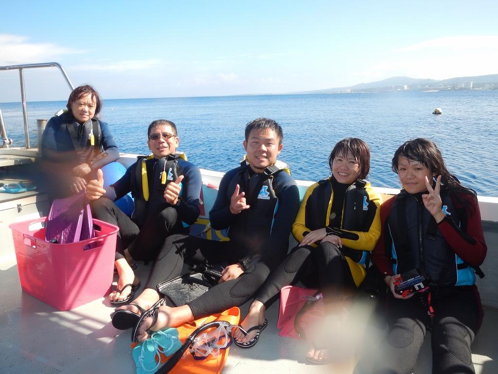 5人青洞浮潛