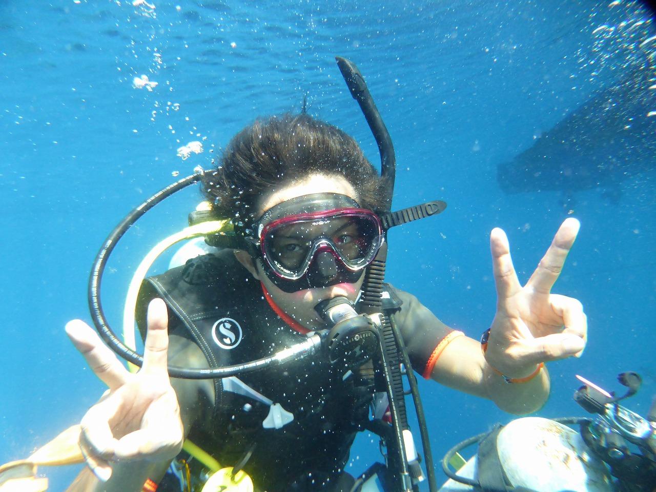 潛水Staff錄像!