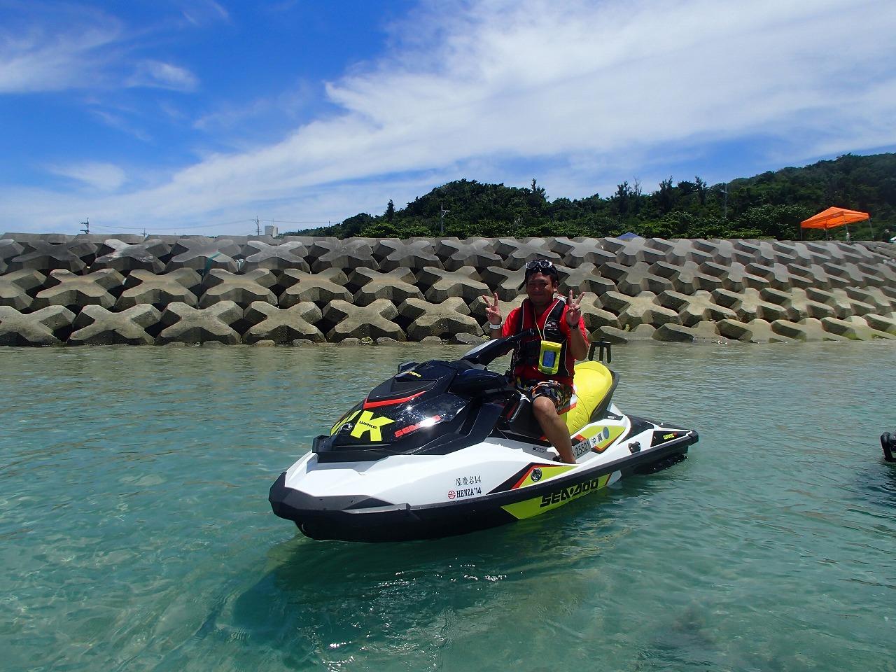 沖繩信息041 沖繩的水上摩托是?廉價的水上摩托體驗之旅是