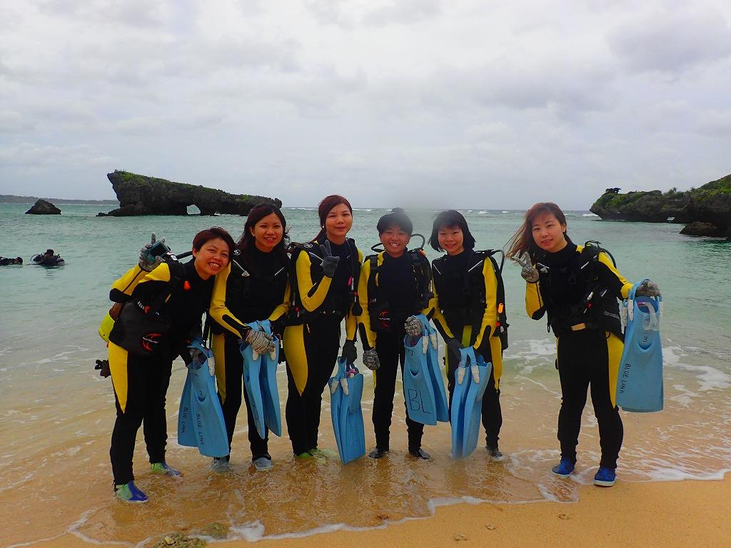 熱帶魚體驗潛水