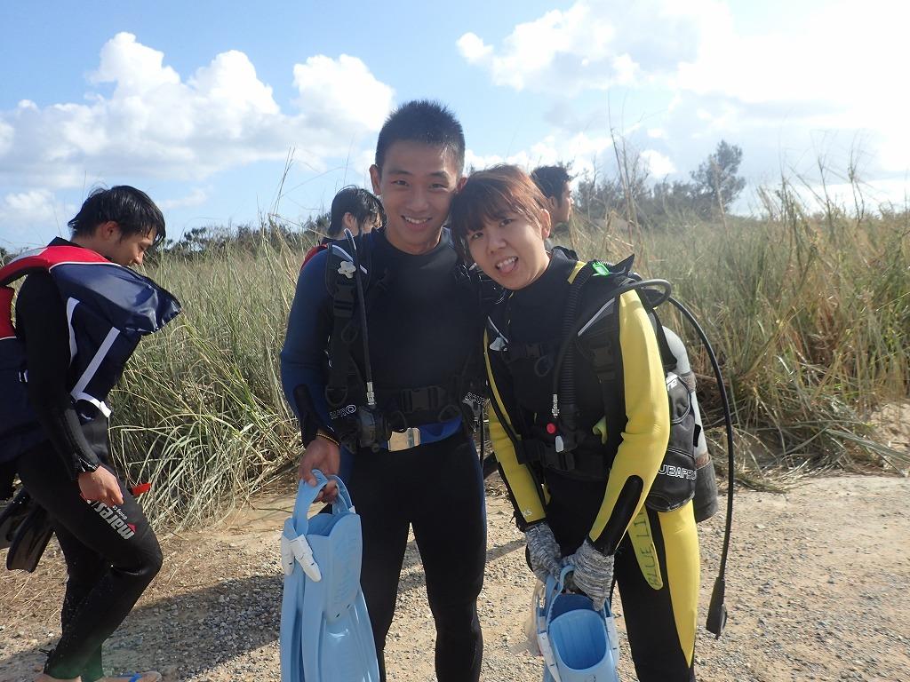 10月15 熱帶魚線路體驗潛水
