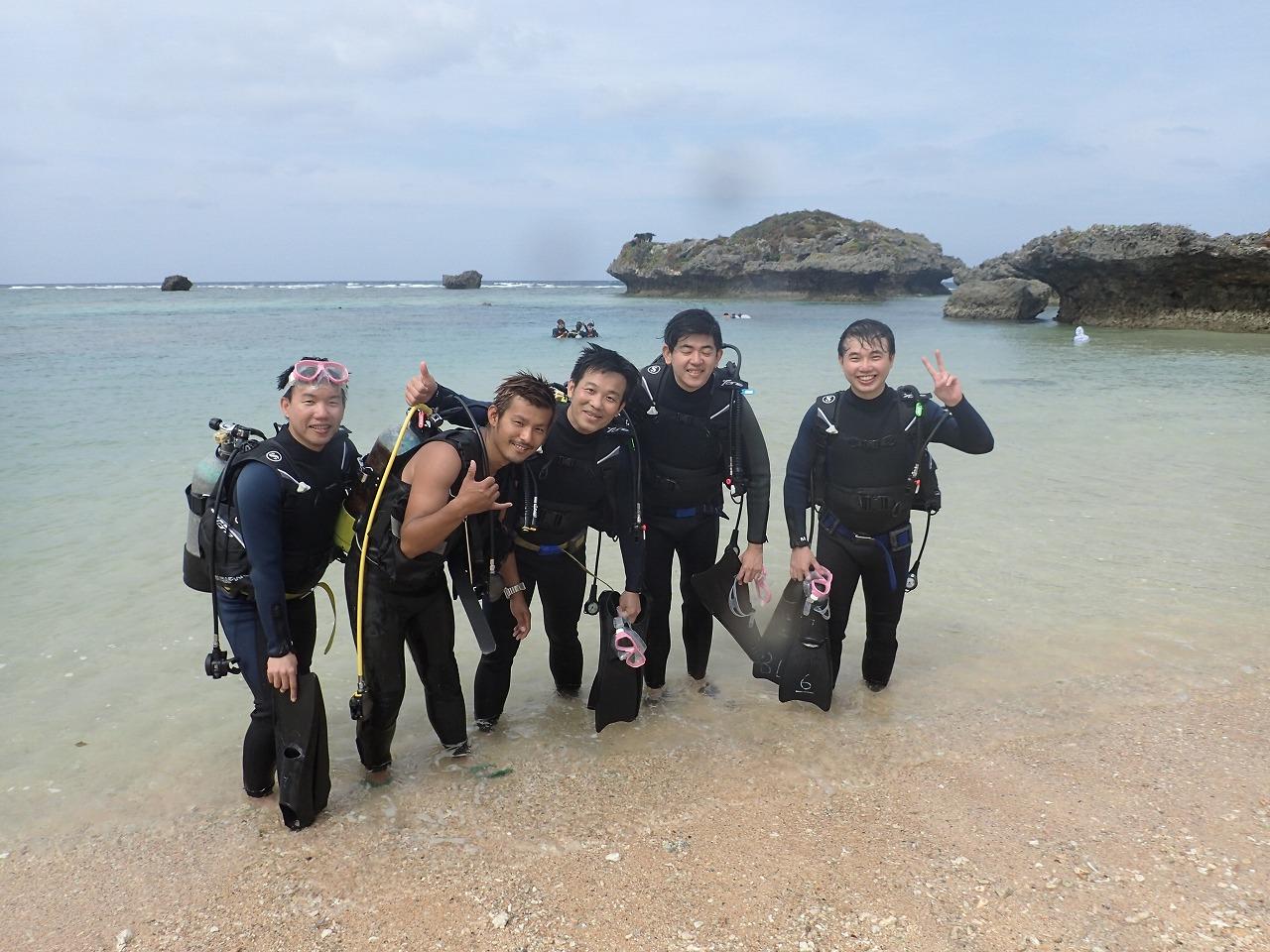 2014.10.27.4位熱帶魚體驗潛水