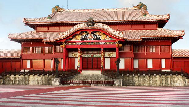 冲绳首里城