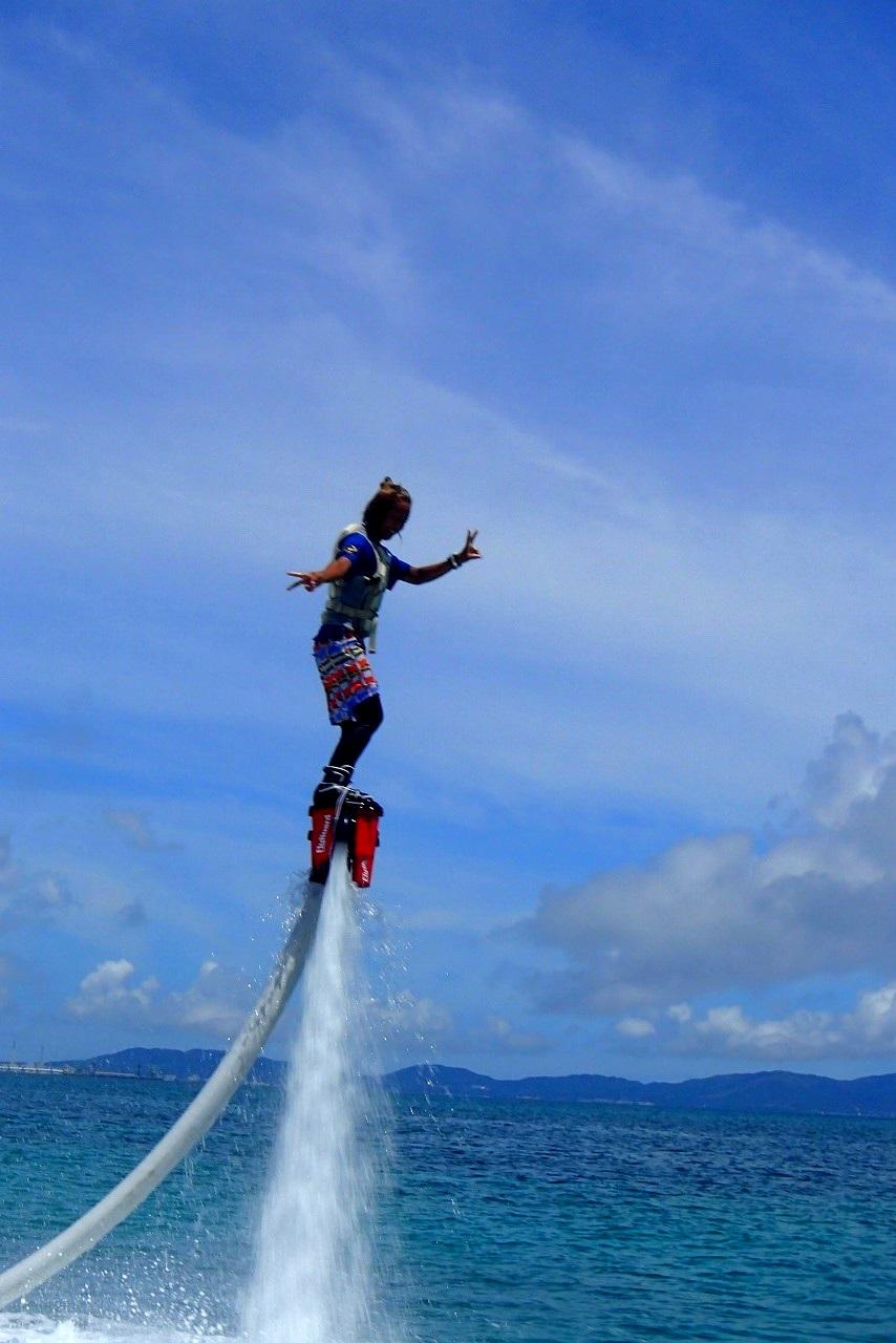 沖繩信息040 沖繩的水上飛板是?廉價的水上飛板體驗之旅是