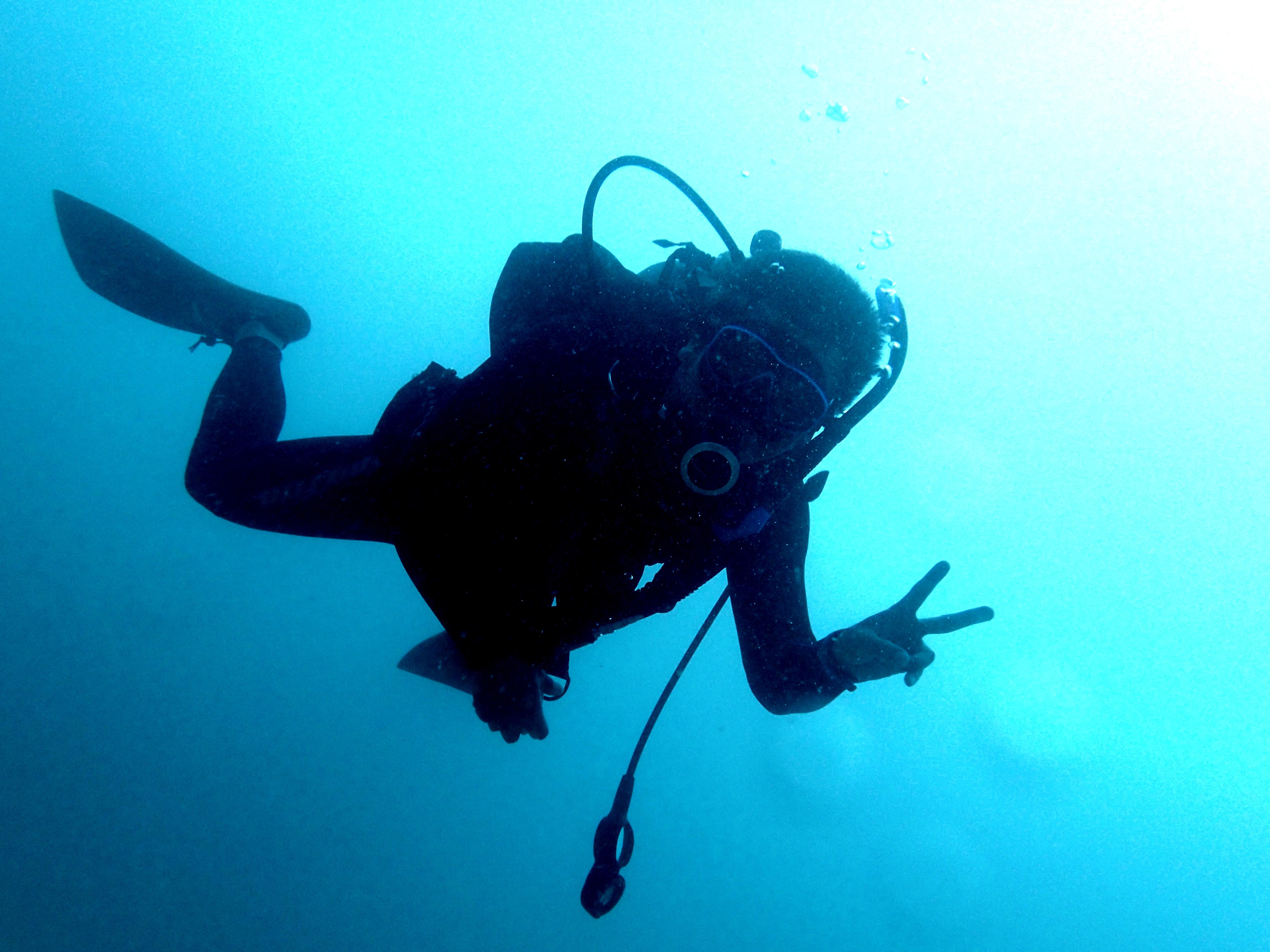 沖繩的潛水資格