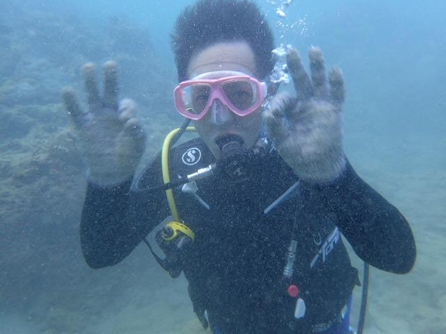 沖繩的潛水執照旅行是?