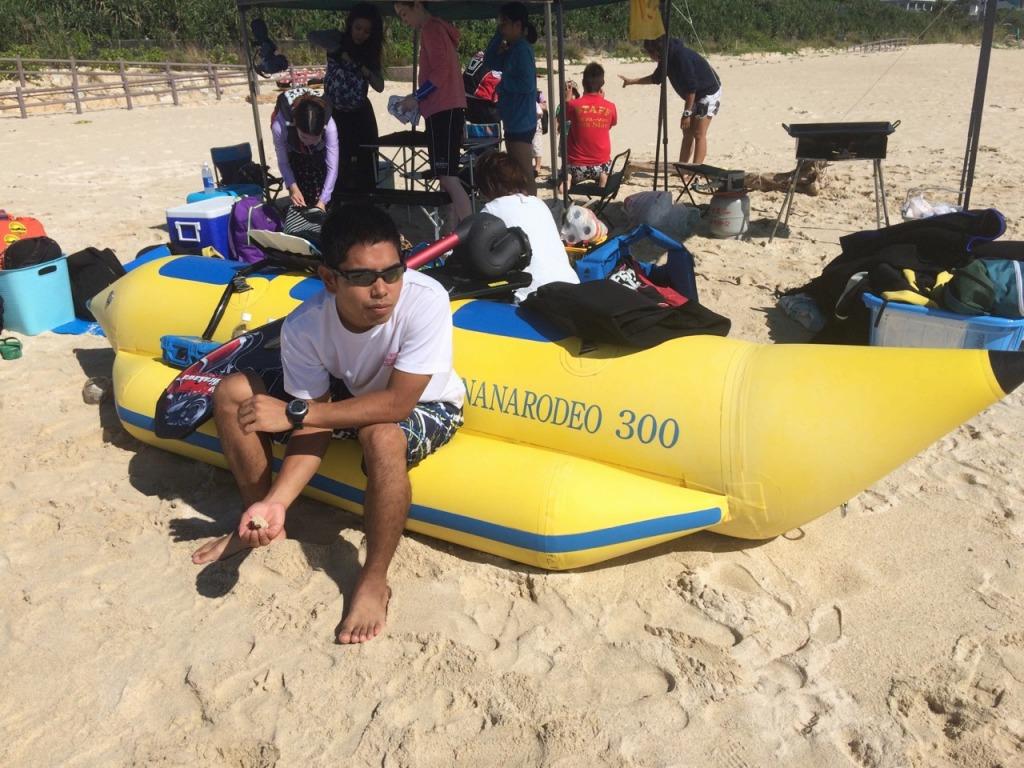 沖繩信息042 沖繩的香蕉船是?廉價的香蕉船體驗之旅是