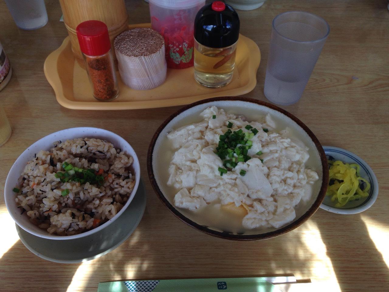 yushi豆腐沖繩麵條