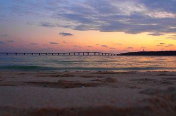 冲绳与那霸前滨海滩