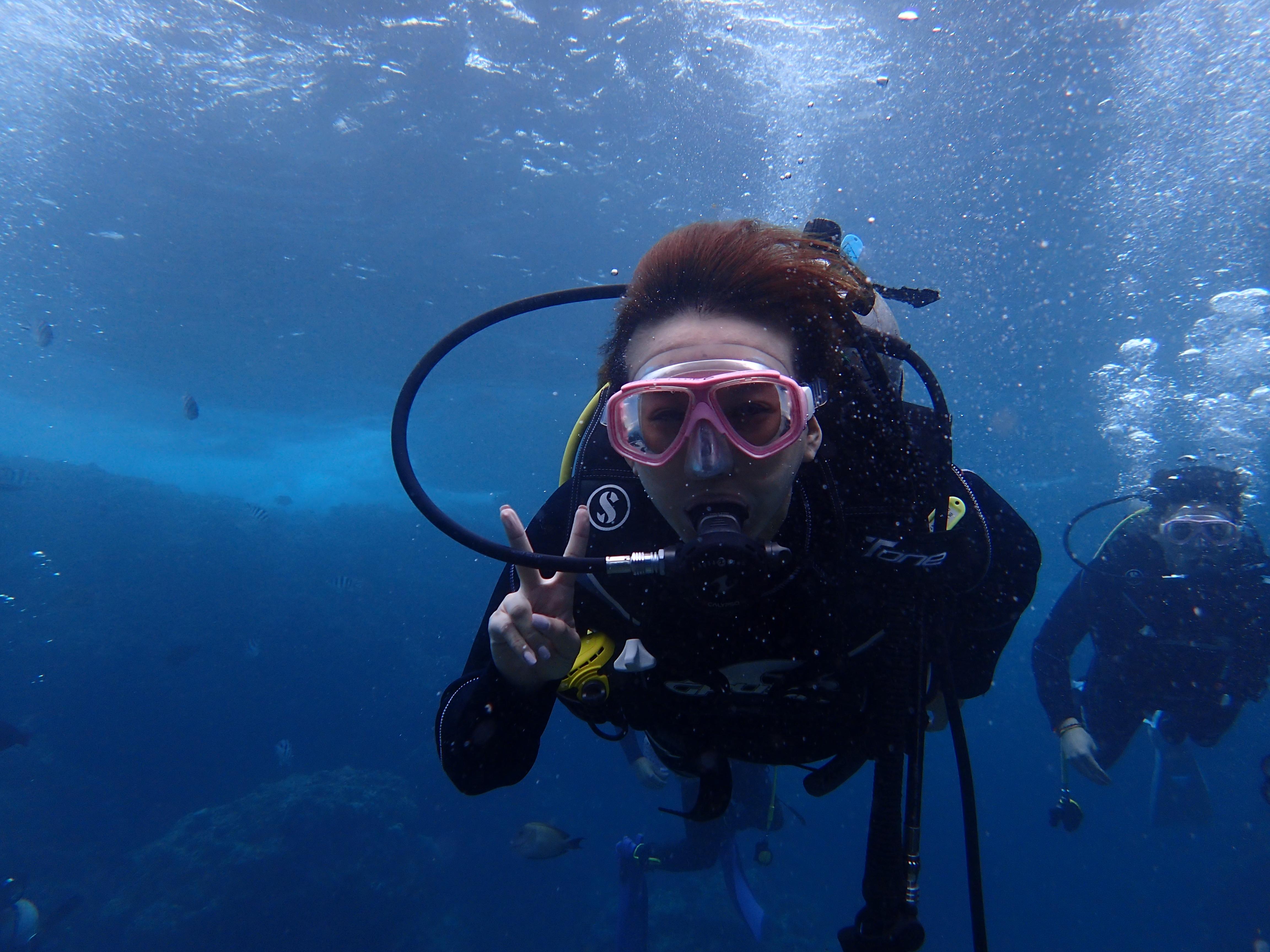 深潛(有執照潛水)&沖繩特色拖鞋體驗