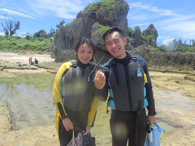 2015.7.14熱帶魚浮潛