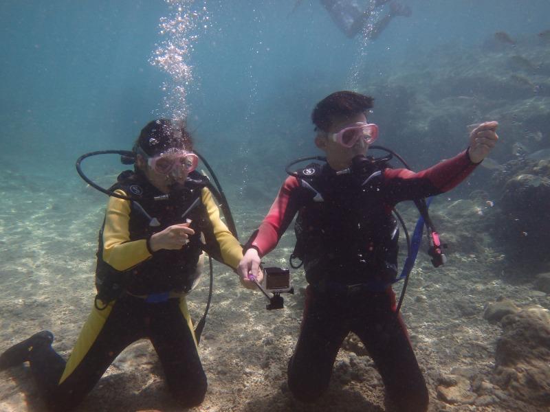 2015.9.30熱帶魚浮潛&體驗潛水