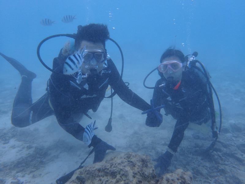 2015.10.31珊瑚養殖場體驗潛水