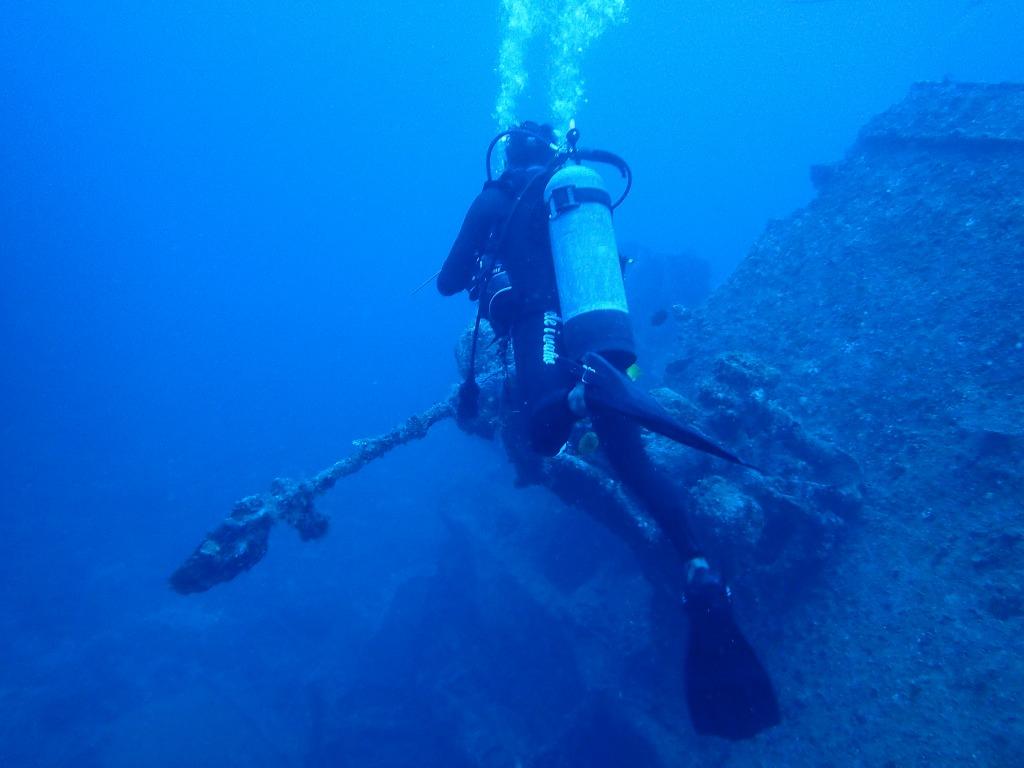 沉船EMMONS(12)沖繩潛水