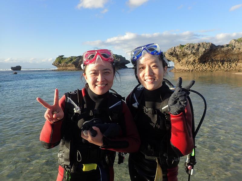 2015.12.18熱帶魚線路體驗潛水