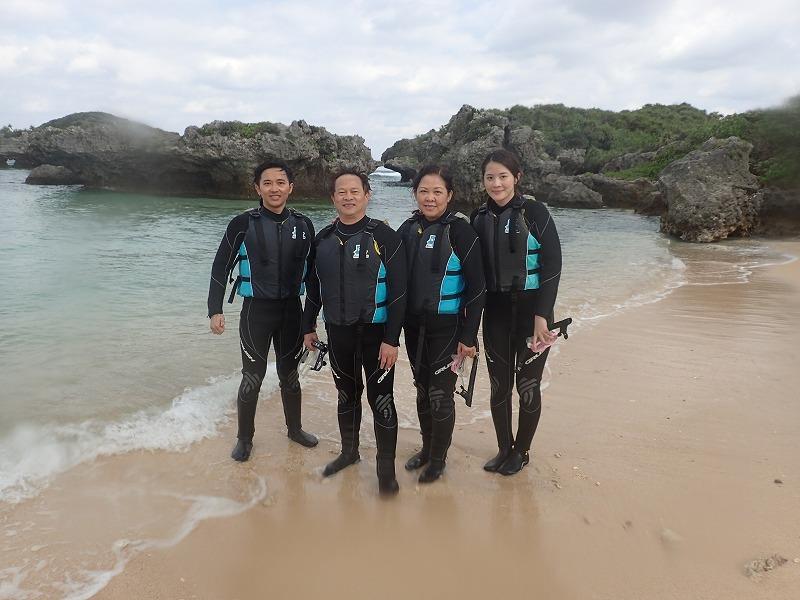2016.3.12熱帶魚線路浮潛