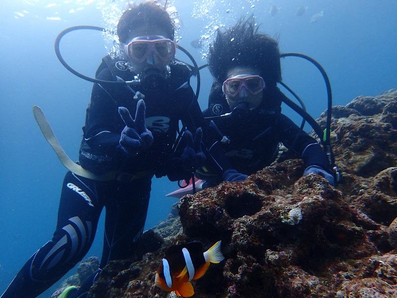 2016.3.18青之洞窟體驗潛水