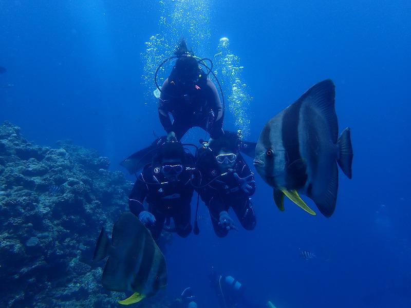 2016年4月26日青之洞窟體驗潛水