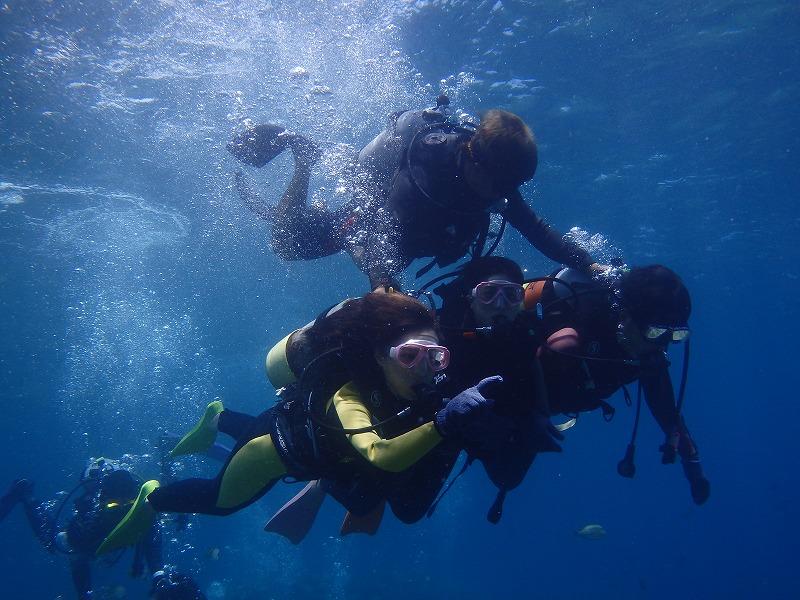 2016年5月14日青之洞窟體驗潛水