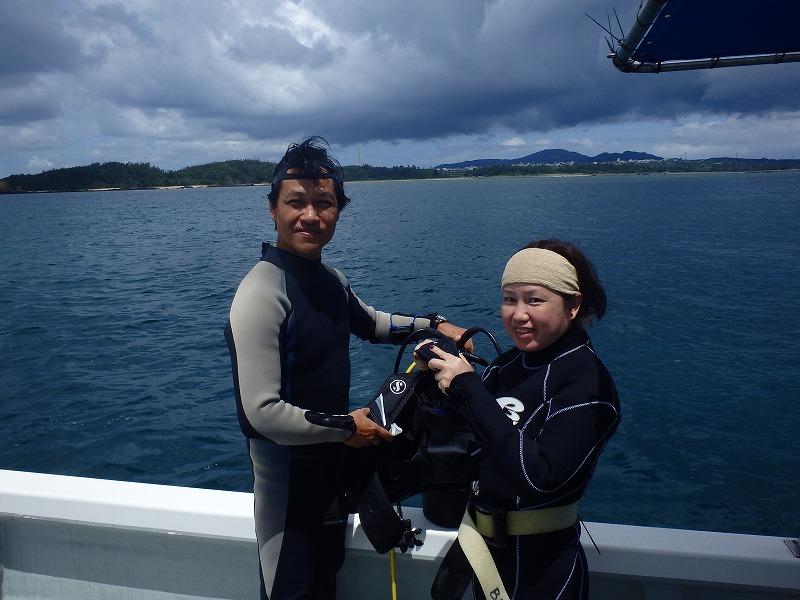 2016年6月7日金武岬線路有執照潛水