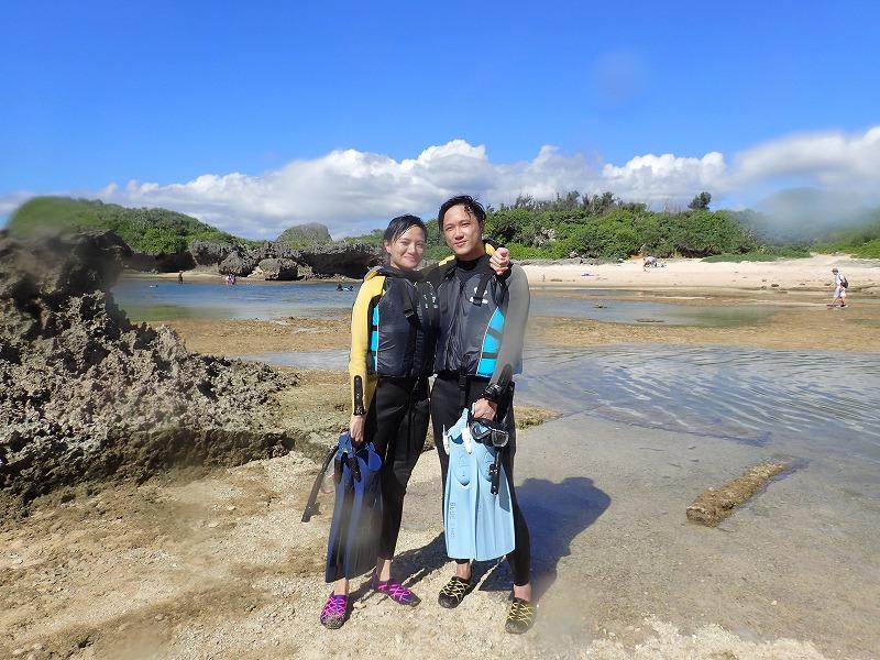 2016年6月20日熱帶魚線路浮潛