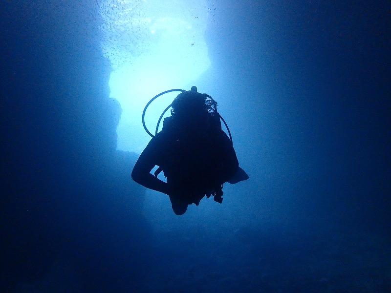 2016年6月22日青之洞窟有執照潛水