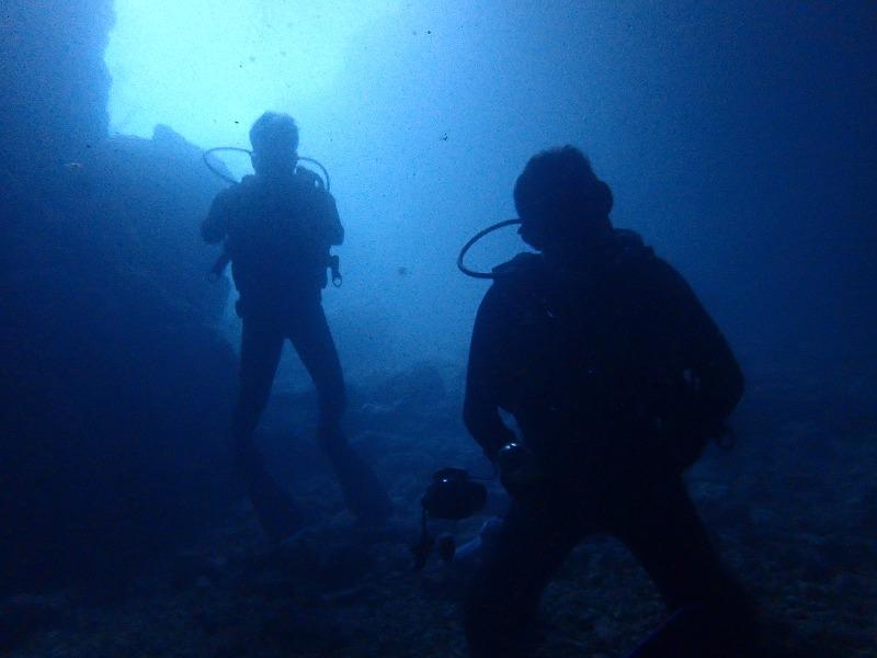 2016年6月25日青之洞窟有執照潛水
