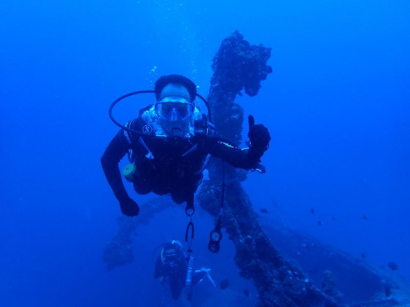 2016年6月26沉船EMMONS有執照潛水