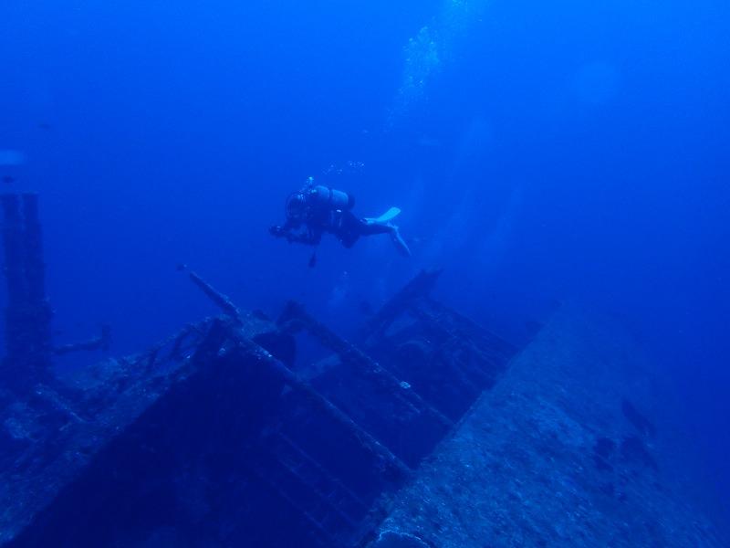 2016年6月26沉船EMMONS有執照潛水2