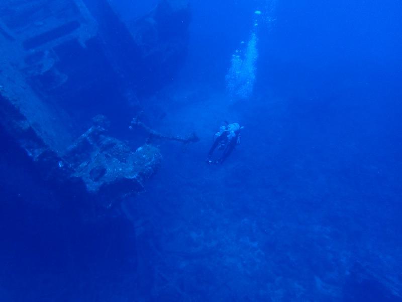 2016年6月26沉船EMMONS有執照潛水3
