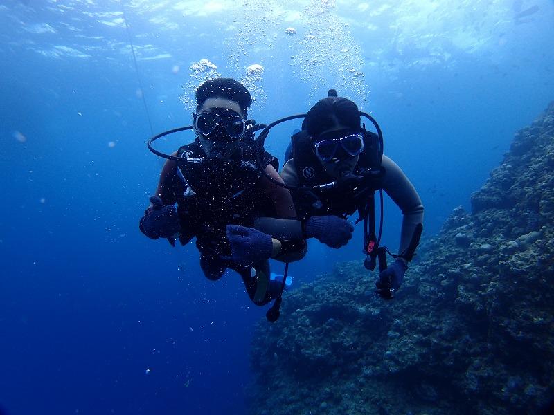 2016年7月7日青之洞窟體驗潛水