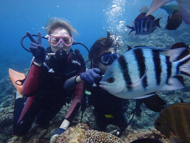 2016年7月9日 青之洞窟體驗潛水