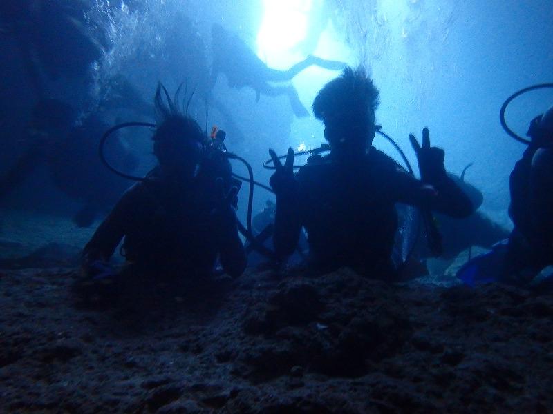 2016/07/21  青之洞窟- 體驗潛水