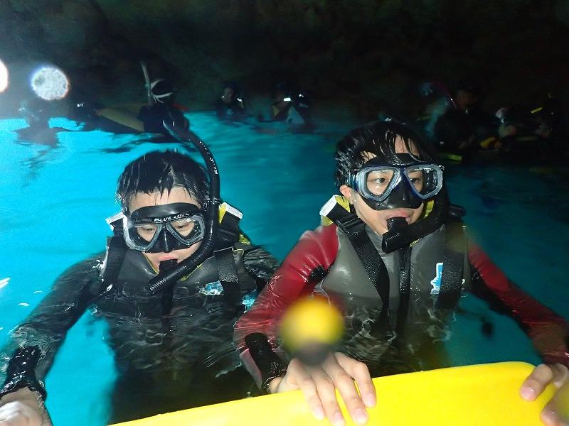 2016年7月22日青之洞窟浮潛