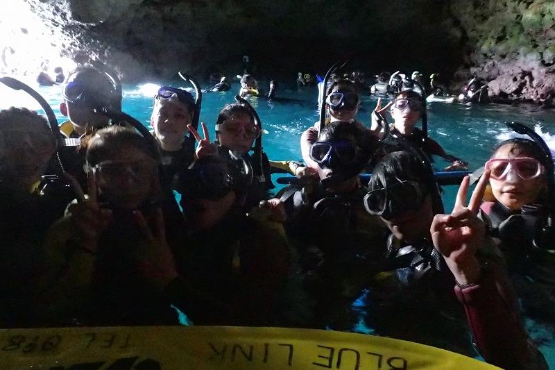 2016/07/31 青之洞窟-浮潛
