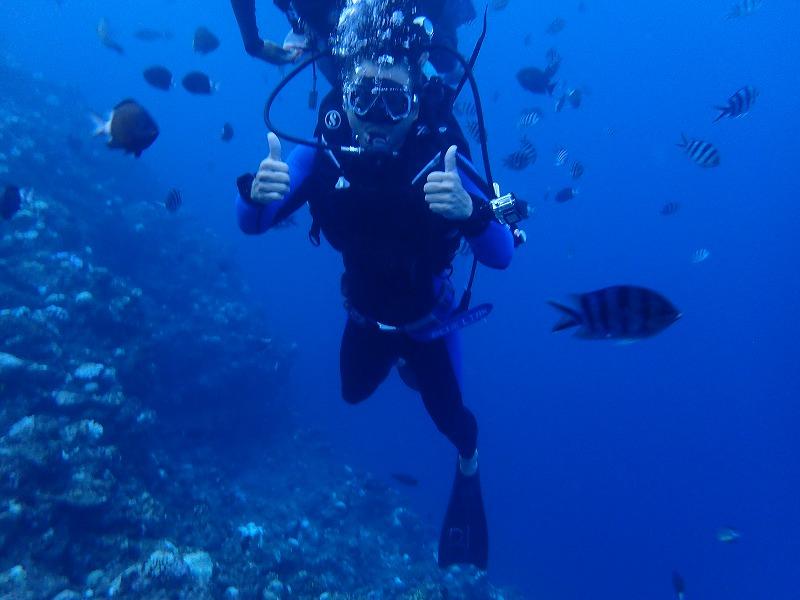 2016年9月22日青之洞窟體驗潛水
