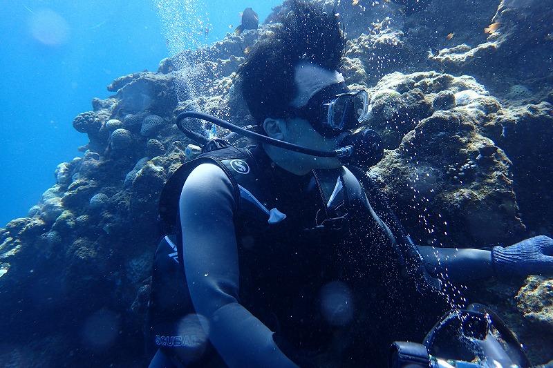2016年9月25日青之洞窟體驗潛水